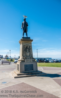Whitby is Captain Cook's home port.