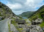 Country road, Gap of Dunloe, County Kerry Ireland.