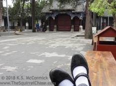 Touring San Kong in Qufu, China.