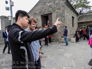 Penglai Pavilion in China