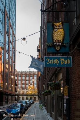 Our favorite watering hole is on Post Alley.