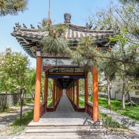 Walkway at Yangjiabu Folk Village.