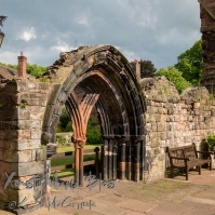 Grounds of Carlisle Cathedral.