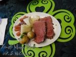 St. Patrick's Day dinner.