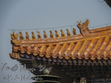 Roof guardians on the Hall of Supreme Harmony.