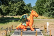 Dragon at Kew Gardens.