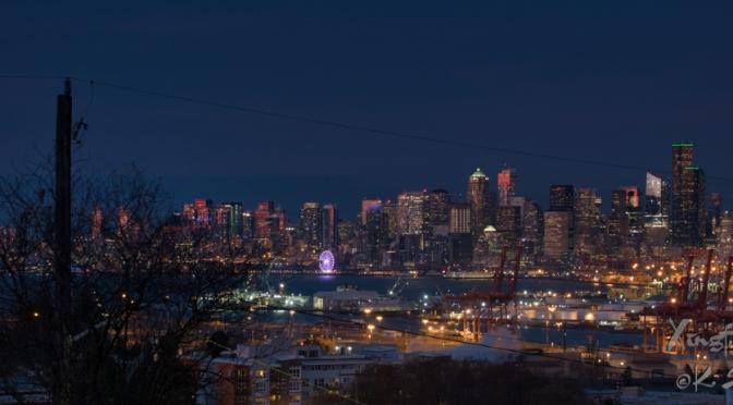 Blue Hour Cityscape