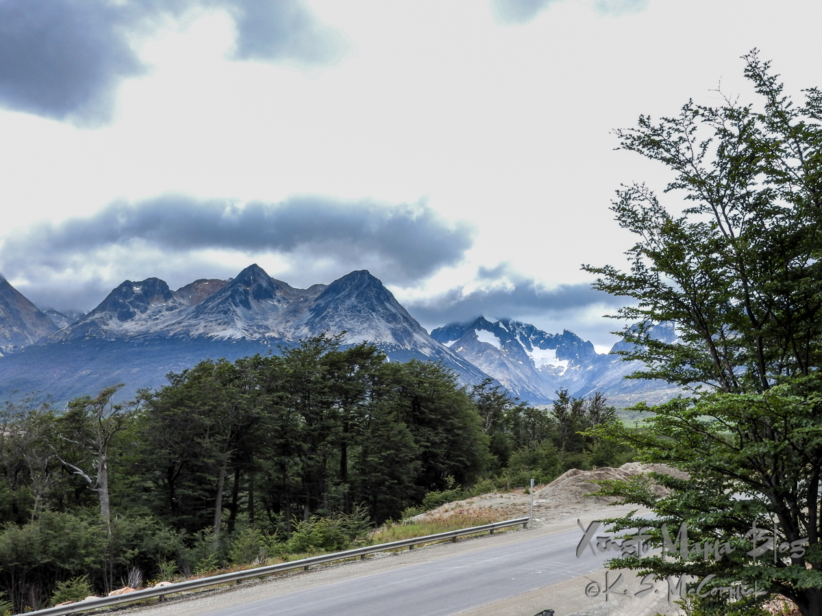 Mountains of Tierra del Fuego.