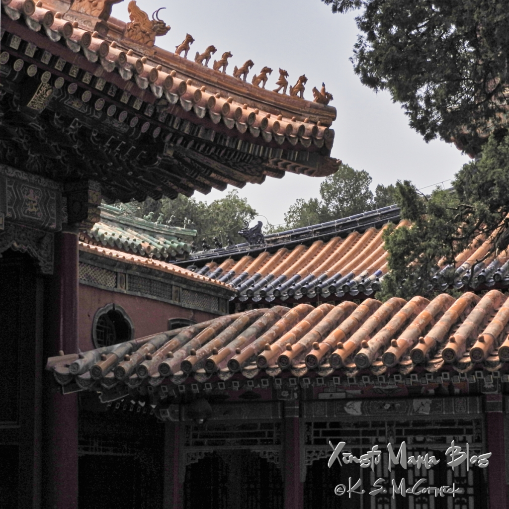 Tile roofs and guardians