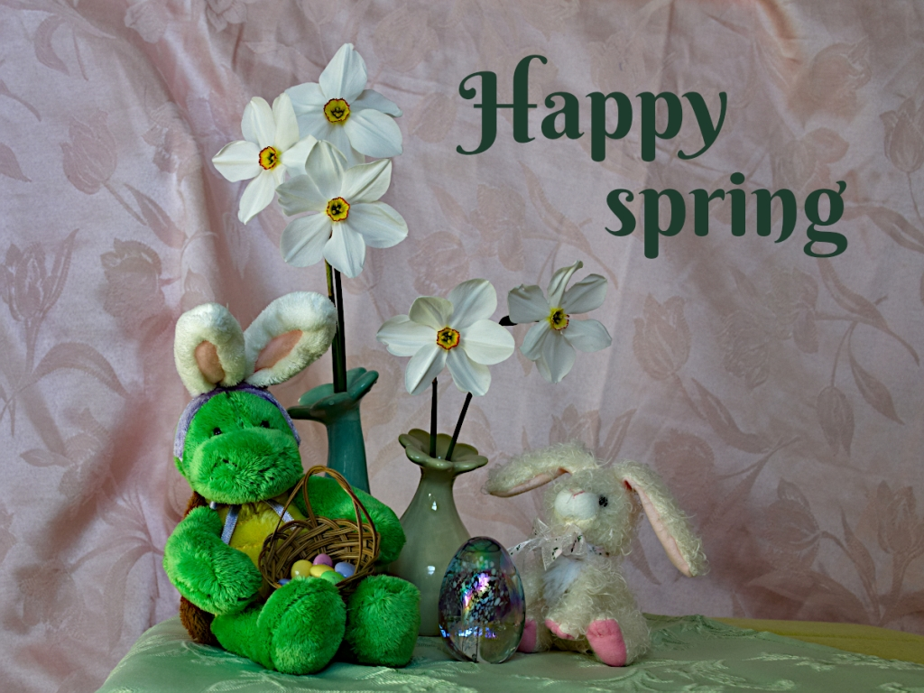 Photos and wishes for you to have a happy spring.