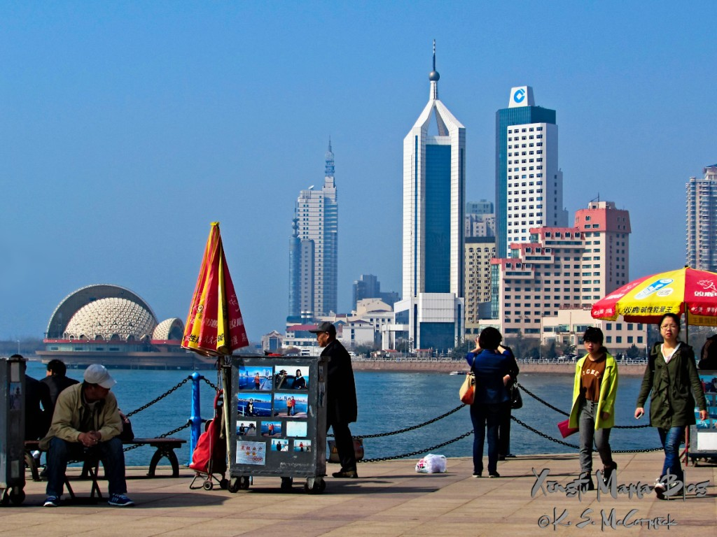 Waterfront in Qingdao.